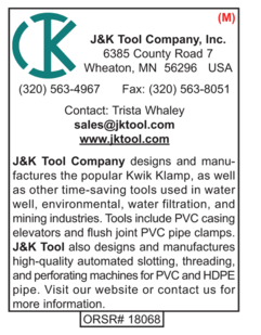 J&K Tool Comapny, Supplies