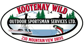 Kootenay Wild Fishing Charter, Kootenay Wild Taxidermy, Kootenay Wild Bed & Breakfast