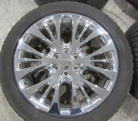 "CHEVY 22"" SILVERADO TAHOE SUBURBAN TAKEOFF WHEELS AND TIRES BRIDGESTONE"
