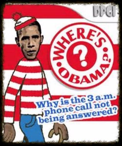 Where is Barack?