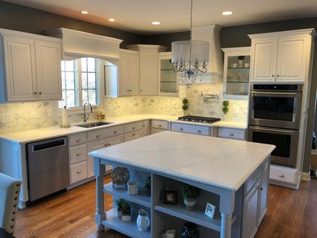 Kitchen Cabinet Refinishing and Painting, St. Charles
