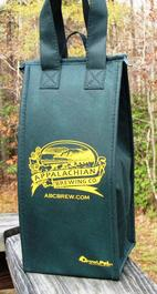 Forest Green Wine Bag
