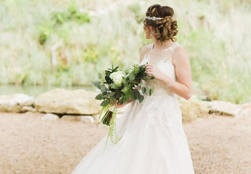 Bloom and Leaf Events Hill Country Wedding
