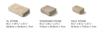 Brussels Block Paver Sizes
