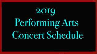 2019 PAC Concerts