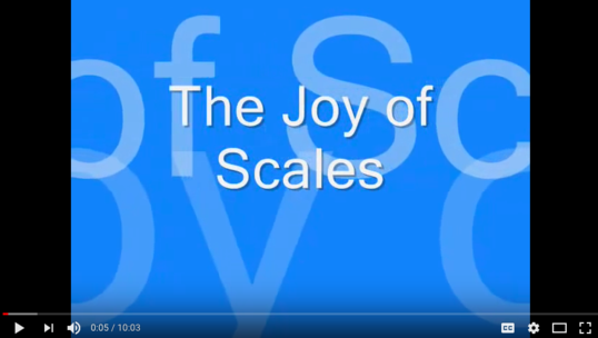 Joy of scales