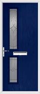 2 Square Door karri glass