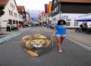 wonderful 3d street art pictures