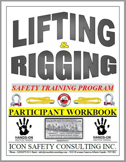 Lifting and Rigging Training - ICON SAFETY CONSULTING INC.