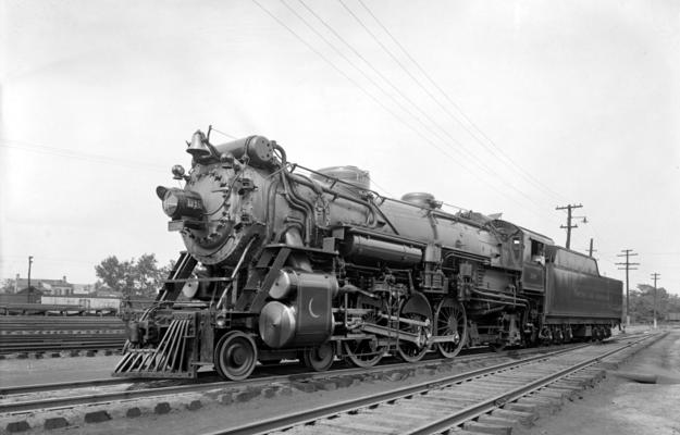 Southern's Crescent Limited steam locomotive, a Ps-4 class, 4-6-2.