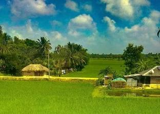 A village In Sundarbans