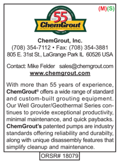 Grouters, ChemGrout