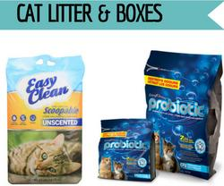 Cat Litter & Litter Boxes at Golf Rose Pet Store | Golf Rose Animal Services