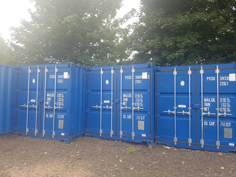 SAS Container Storage in Motherwell Scotland