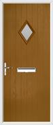 Cottage Diamond Composite Door obscure glass