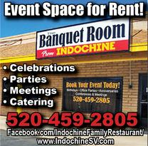 Real Estate Press, Southern Arizona, Indochine Banquet Room
