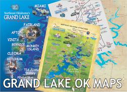 Grand Lake OK maps northeast OK
