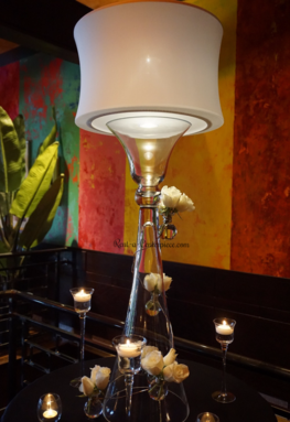 Rent Lampshades centerpieces Los Angeles California