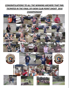 2016 Point Shoot Championship Photos