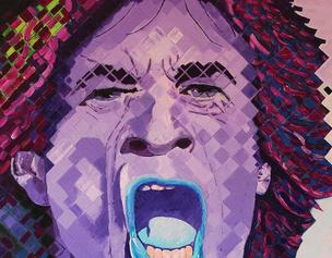 Portrait of Mick Jagger