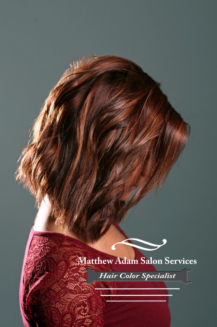 Hair Color Salon in Addison - Matthew Adam Salon Services