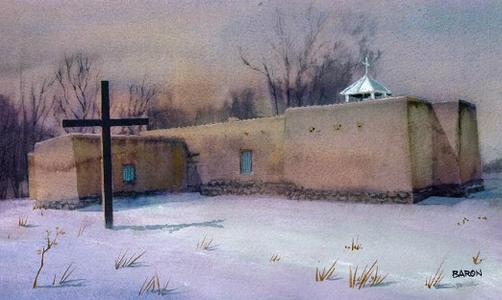 The Natural Accents Gallery of Taos - Featuring Bill Baron, Mixed Media Artist