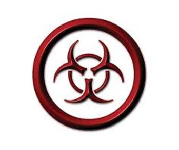 biohazard symbol representing the risks of biohazard cleanup in Hillsborough County