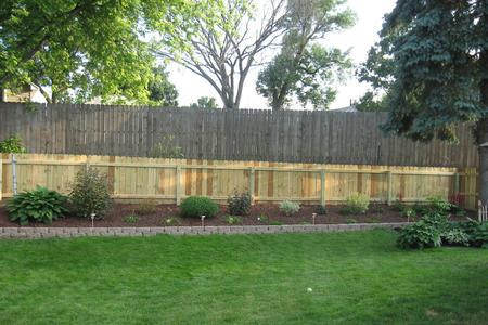 4' PRIVACY FENCE