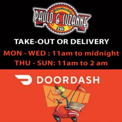 ORDER ONLINE WITH DOORDASH