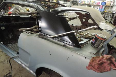 65 Mustang Coupe Bunch Of Repairs