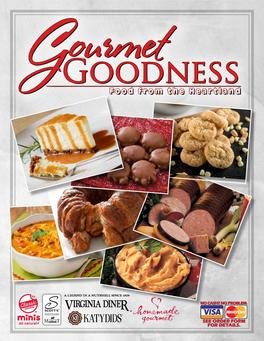 Gourmet Goodness Christmas Fundraiser Brochure