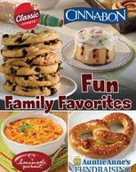 Fun Family Favorites Fundraising Brochure