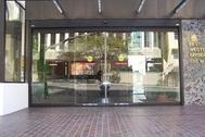 automatic glass doors