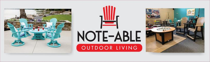 note-able outdoor living