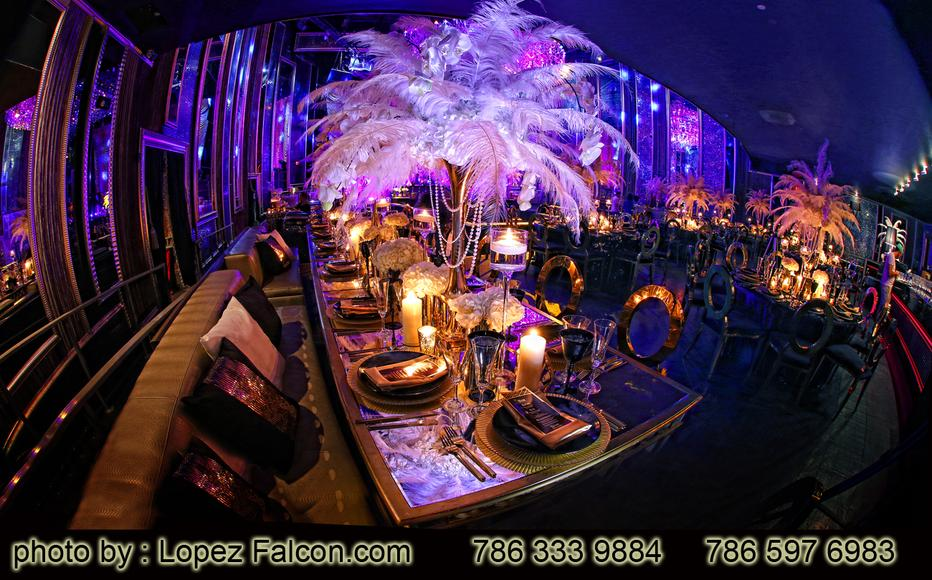 Quinces Great Gatsby Miami Quinceanera Decoration