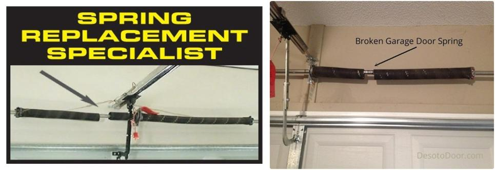 garage door spring repair - garage doors 4 less