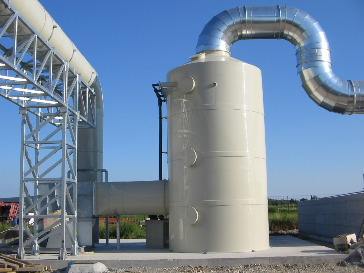 ODOR REMOVAL SYSTEMS - WASTEWATER