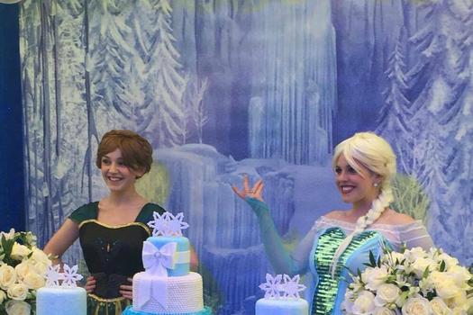 Frozen Elsa Entertainers for Princess Parties in Manchester and Cheshire