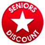 Senior citizen discount on gutter installation