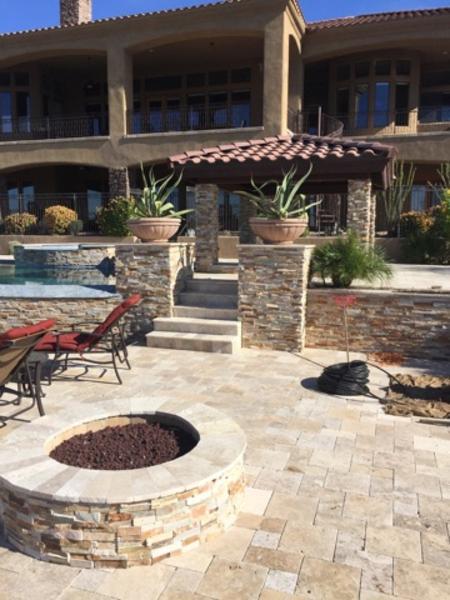 Landscape design backyard landscape designs best deal for Landscaping rock queen creek az