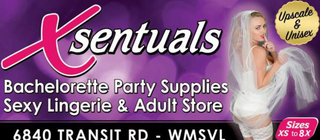 Valentine's Day lingerie & sex toys at Xsentuals store in Buffalo NY