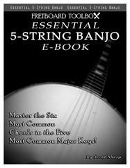 Essential 5-String Banjo E-Book Fretboard Toolbox