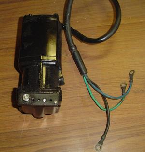 Used Force power trim motor 3 wire, with valve body and reservoir ​ Fits 75 hp to 125 hp OEM # 824051