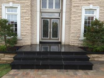 Flagstone on Porch and steps in Aurora, Newmarket, Toronto