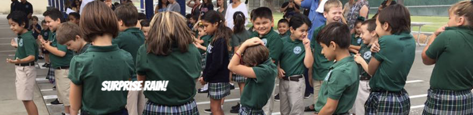 Happy Students St. Rose-McCarthy School