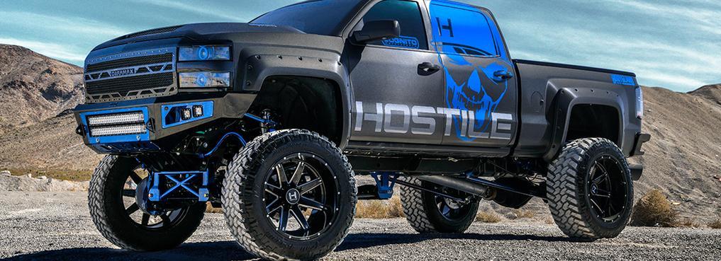 Hostile Custom Wheels Autosport Plus Truck Jeep