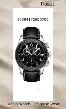 Watch Information Brand, Seller, or Collection Name Tissot Model number T0394172605700 Part Number T0394172605700 Item Shape Round Dial window material type Synthetic sapphire Display Type Analog Clasp Buckle Case material Stainless steel Case diameter 43 millimeters Case Thickness 11 millimeters Band Material Synthetic leather Band length Men's Standard Band width 21 millimeters Band Color Black Dial color Black Bezel material Stainless steel Bezel function Stationary Special features Chronograph Item weight 1.1 Pounds Movement Swiss quartz Water resistant depth 330 Feet