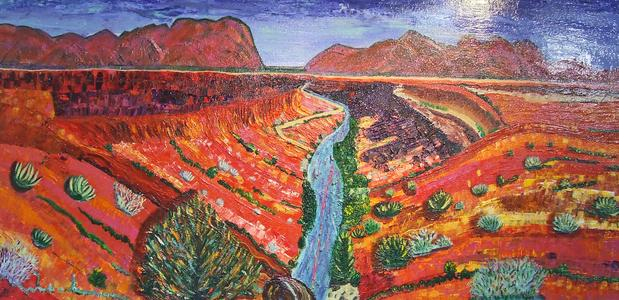 The Natural Accents Gallery of Taos - Exhibiting the works of Katherine M. Soskin, Mixed Media Artist