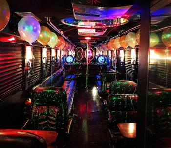 Limo party Bus Rental