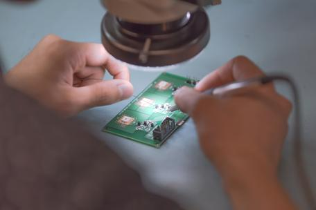 PCB soldering design engineering development